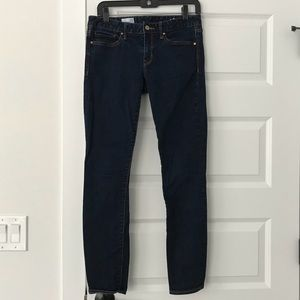 "Women's Gap 1969 ""Always Skinny"" Dark Blue Denim"